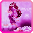 Pink Fairy Live Wallpaper apk
