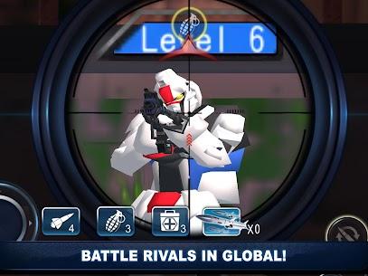 Robot Shooting War Games: Robots Battle Simulator 5