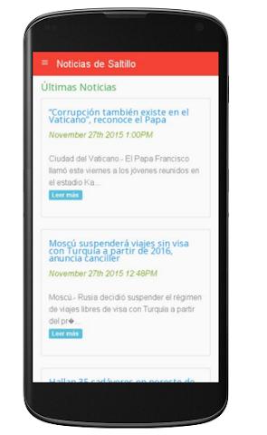 android Noticias de Saltillo Screenshot 0