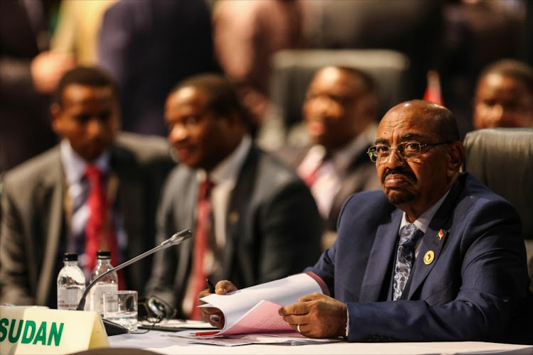 Omar al- Bashir. Picture: THE TIMES
