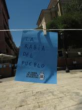 Photo: Mensaje de la Plaza de Dos de Mayo.