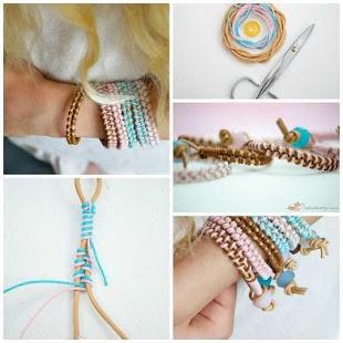 DIY Bracelet Ideas - náhled