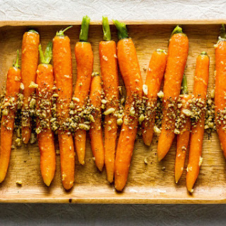 Carrots with Ginger and Dukkah Recipe