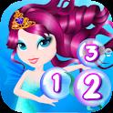 Preschool Learning Mermaid Fun icon