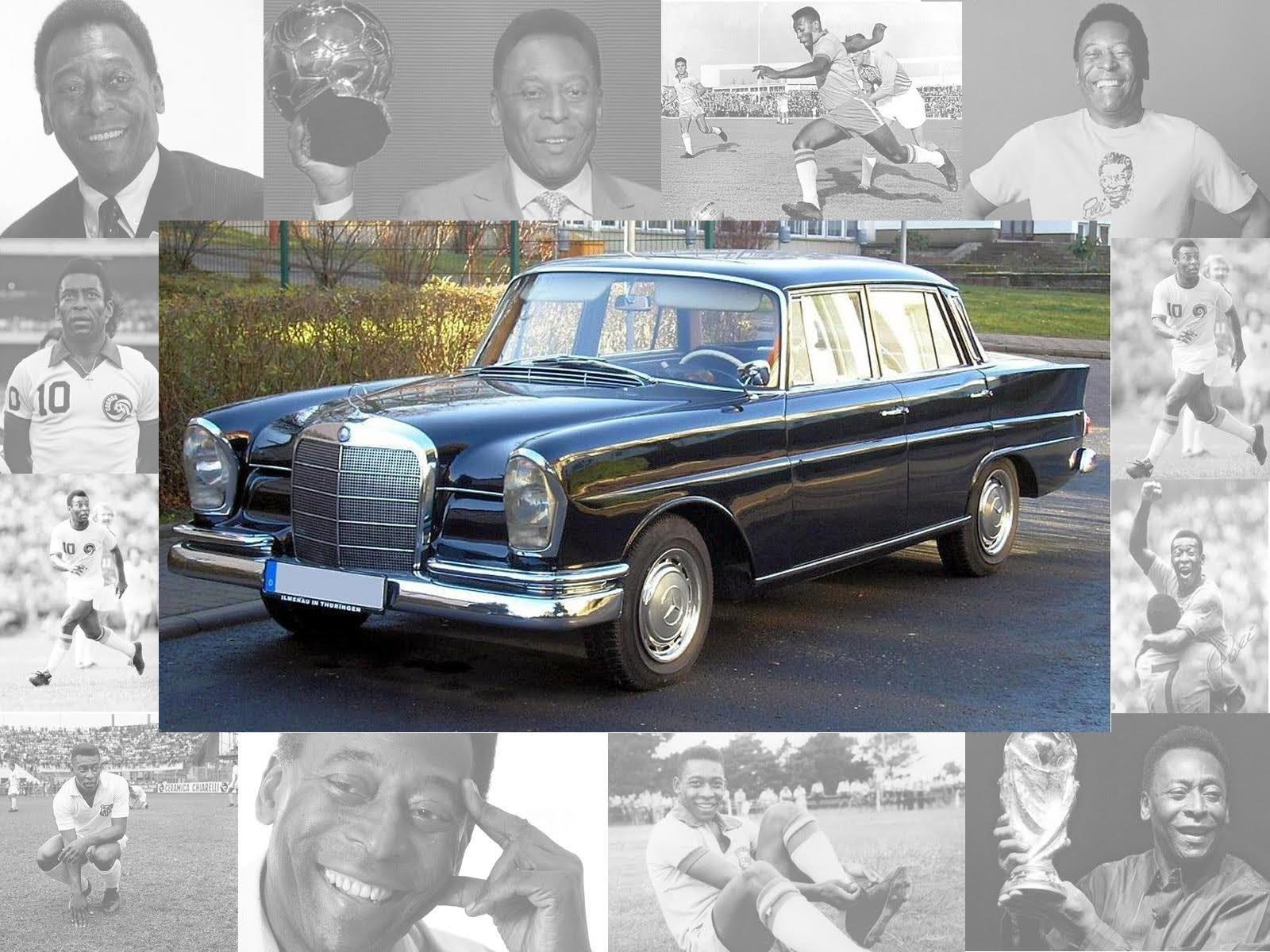 Los autos del rey Pelé