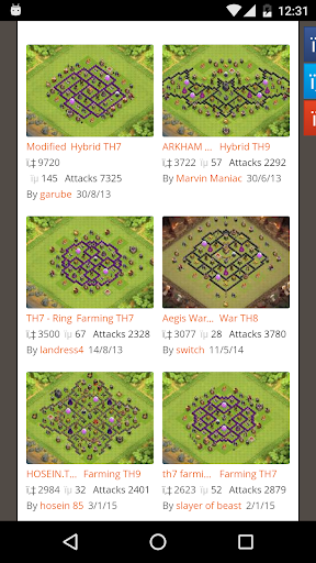 Xmod for COC Maps