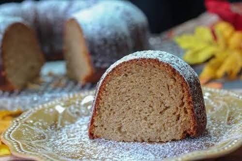 """Bourbon Squash Cake""""I was kind of surprised to see this in my..."""