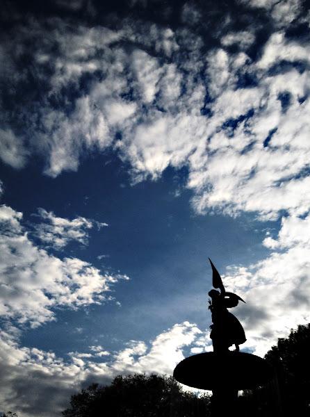 Photo: Bethesda Angel in the Sky