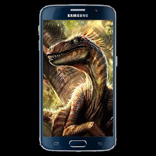 Dinosaur Raptor Wallpaper - náhled
