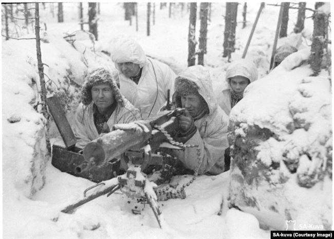 Фінські кулеметники під час радянсько-фінської війни