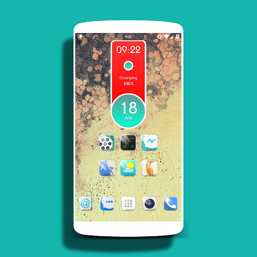 Crystal - icon pack Theme HD