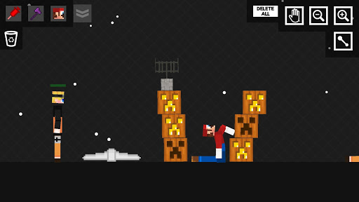 Stick Ragdoll Playground 2: Human Craft apkmr screenshots 3