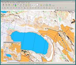 Photo: A screen capture of a Karttapullautin map opened in Oziexplorer (Lake Tuohilampi in Vihti, S Finland)