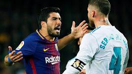 Luis Suárez y Sergio Ramos.
