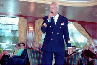 Photo: The Captain introduced himself and the waitstaff and briefed us on the ins and outs of the ship.