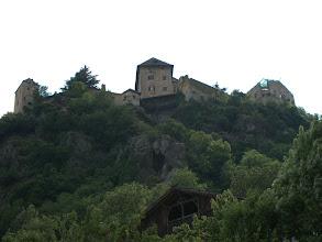 Photo: Hoch oben Schloss Juval, Messners Sommerwohnsitz