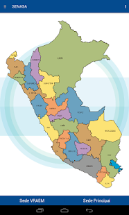 App Institucional Senasa - náhled