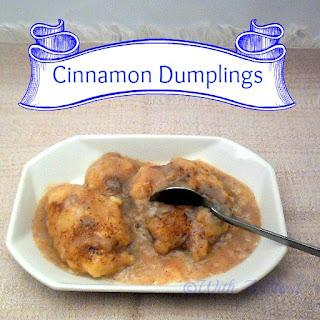 Cinnamon Dumplings Recipes
