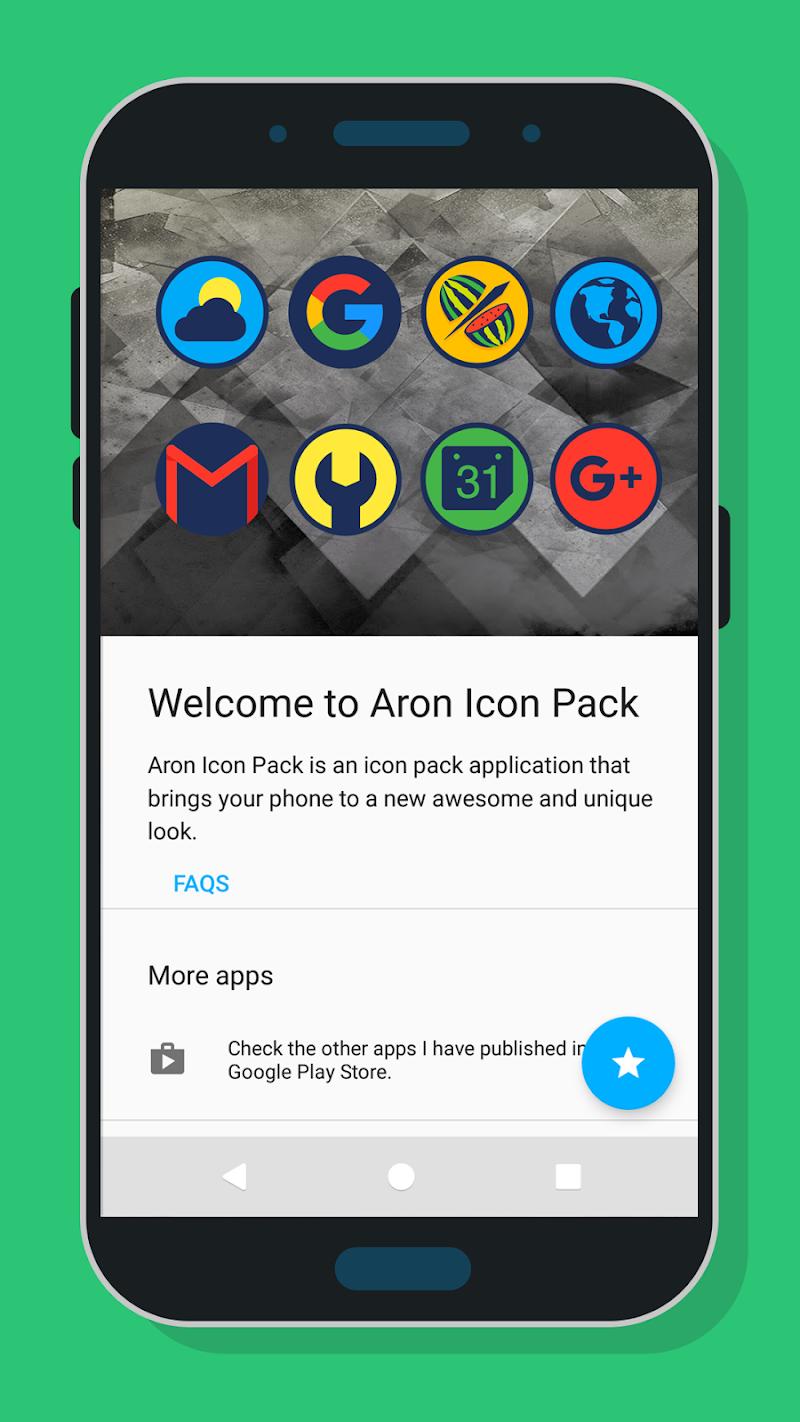 Aron Icon Pack Screenshot 4