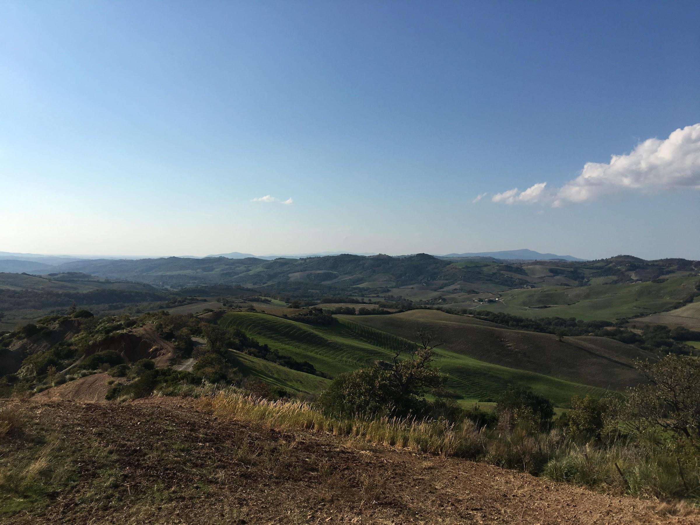 La Maremma Toscana, vista panoramica