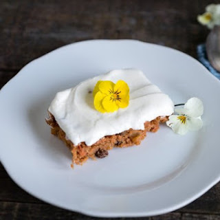3 Ingredient Carrot Cake.