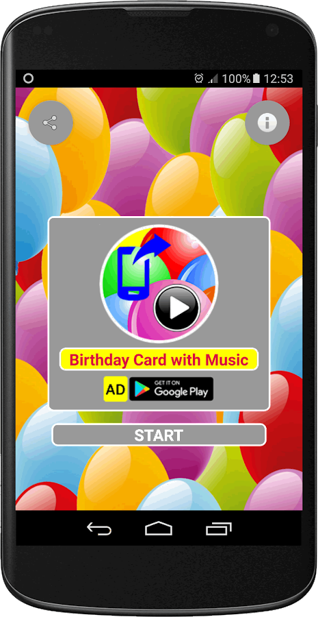 Birthday Card with Music Android Apps on Google Play – Birthday Cards Play Music