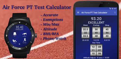 Air Force PT Test Calculator - Apps on Google Play