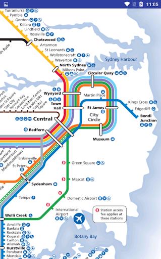 Sydney Australia Train Map.Australia Sydney Rail Train Map Apk Download Apkpure Co