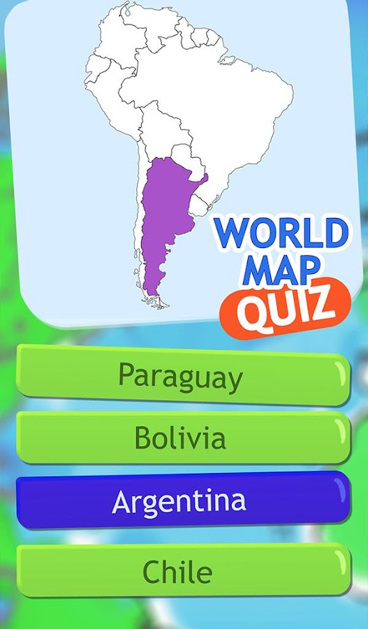 World Map Quiz Geography Game Android Apps On Google Play - Argentina map quiz
