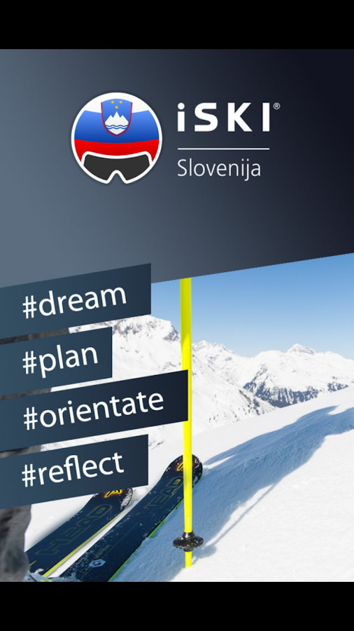iSKI Slovenija- screenshot