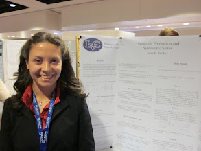 Photo: Laura, MAA Poster Session, JMM New Orleans, January 2011