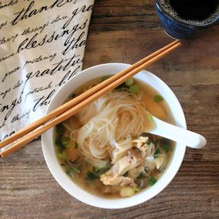 Vietnamese Chicken Noodle Soup - Pho Ga - Chicken Pho