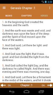 Holy Bible ASV - náhled