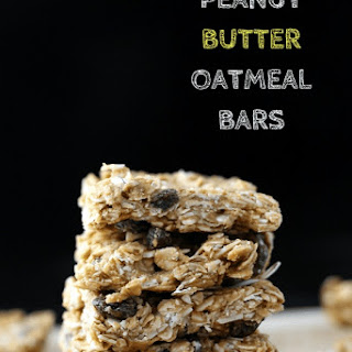 Peanut Butter Oatmeal Bars.
