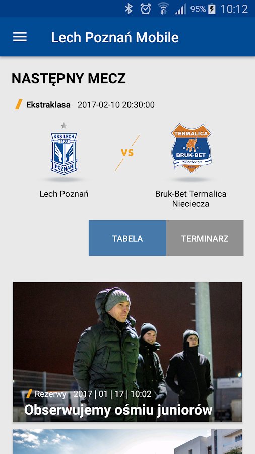 Lech Poznań- screenshot