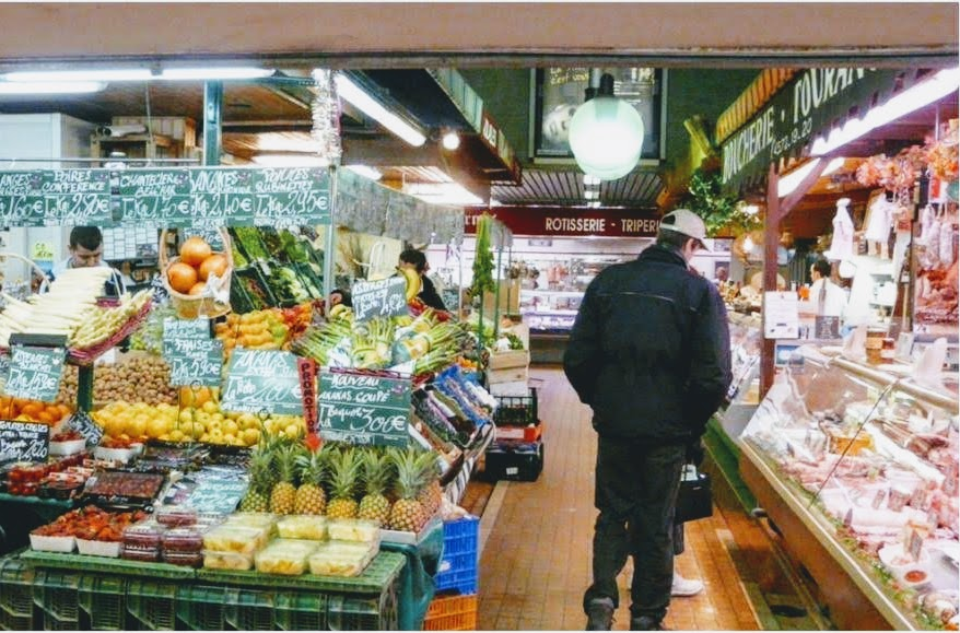 Marché couvert des Ternes マルシェ・クーヴェル・デ・テルヌ