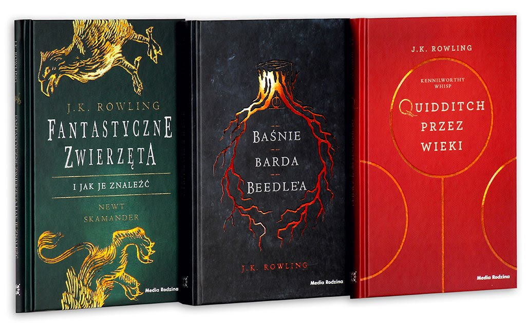 Podręczniki z Hogwartu - Harry Potter