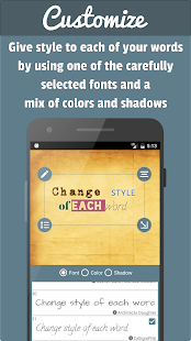 PostMaker: put text on photos- screenshot thumbnail