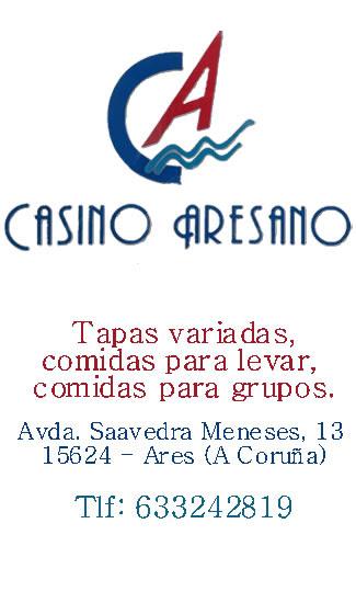 Casino Aresano, colaborador coa A.D.R. Numancia de Ares.