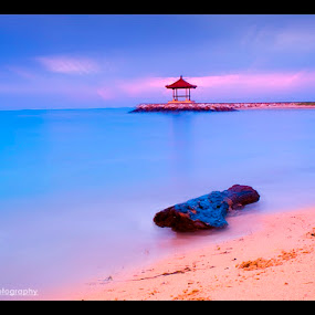 Karang Beach by Marlon Managi - Landscapes Travel ( blue, sea, beach, sunrise, travel, morning )