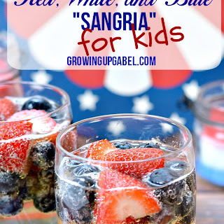 "Red White and Blue Kid ""Sangria"""