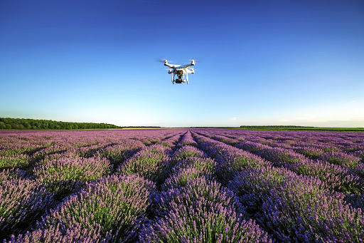 Eye in the sky: In precision agriculture, farmers make use of drones, sensors, satellites and the Global Positioning System (GPS) to gather data about their crops, allowing them to make more informed decisions and better manage resources. Picture: ISTOCK
