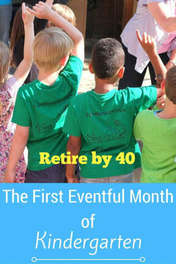 The First Eventful Month of Kindergarten