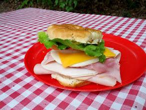 Photo: It's not a proper sandwich until you have trouble taking a bite.