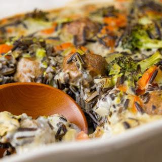 Broccoli Wild Rice Casserole.
