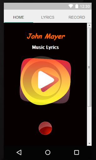 Music Lyrics John Mayer