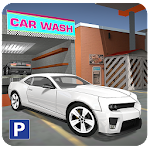Car Service Station Parking Icon
