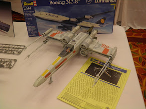 Photo: Their new large scale X-Wing looks pretty good.