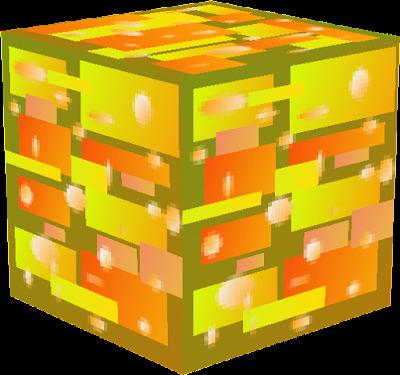 bloc de pépite d'or