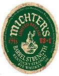 Michters Barrel Strenght Rye